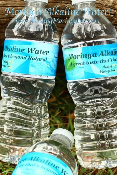 Moringa Alkaline Water!