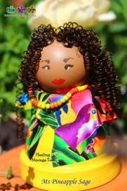 ms pineapple sage doll
